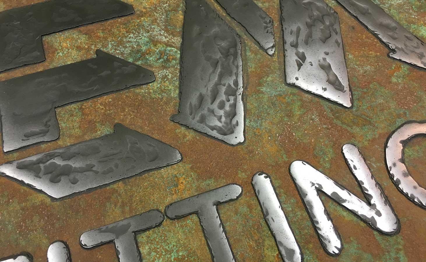 Real Metal FX Rust Close Up