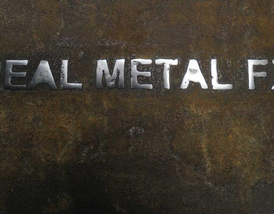 Real Metal FX Stencil